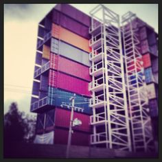 Edificio de contenedores