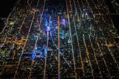 This is what New York City looks like from two kilometers up.