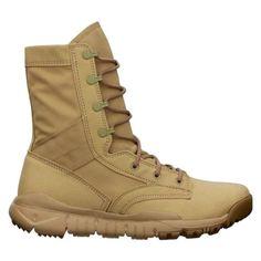 140-Men-NIKE-SFB-Special-Field-Boot-Military-Desert-Army-Tactical-Sz-12-5-KHAKI