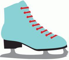 Silhouette Design Store: ice skate