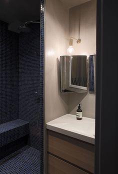 Salle de bain Appartement parisien 50m2- GCG Architectes