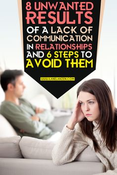 If a relationship is in trouble, and you are looking for answers, almost every article you read will tell you to work on your communication skills. Actually, even if a relationship is not in trouble, you will still hear how important communication is to get the results you want out of the relationship, such as happiness, support, and satisfaction   http://www.ilanelanzen.com/loveandrelationships/8-unwanted-results-of-a-lack-of-communication-in-relationships-and-6-steps-to-avoid-them/