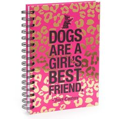 Juicy Couture Spiral Journal ($11) ❤ liked on Polyvore featuring home, home decor, stationery and pink