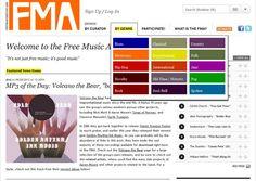 Free Music Archive, gran colección de música libre para usar en nuestros proyectos Soft & Apps - software, aplicaciones web e internet