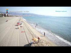 Turismo Roquetas de Mar - Vista aérea de la Playa de la Romanilla