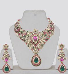 Indian Wedding Kundan Jewelry