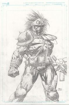 Prophet by David Finch, in Craig  Devena's David Finch Comic Art Gallery Room - 409738