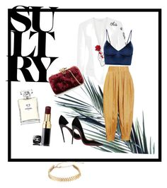 """""""Glam"""" by olivem on Polyvore featuring Chanel, Elizabeth Kennedy, Christian Louboutin, Gucci, Benedetta Bruzziches and Rebecca Minkoff"""
