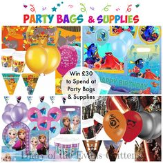 Giveaway: Win to Spend at Party Bags and Supplies - Diary of the Evans-Crittens Nautical Fashion, Party Bags, Love Is All, Giveaways, Celebrations, Competition, June, Presents, Parties