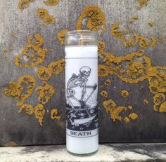 Hey, I found this really awesome Etsy listing at https://www.etsy.com/listing/188735335/death-tarot-candle