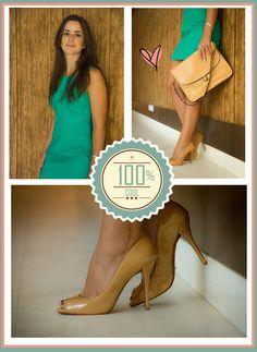 Bendito Look - Vestido Verde #benditolook #lookdodia #lookoftheday #fashion #moda #style #estilo #vestido #verde #green #dress