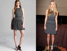 Amanda Seyfried In Tibi - 'Lovelace' New York Press Conference