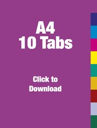 a5 tab divider template - Google Search | Office | Pinterest ...