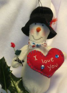 custom snowman by GingerlySpice,
