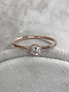 Mothers Day Ring Rose Gold Ring Valentines Ring Promise Ring Anniversary Ring Delicate Diamond Ring Birthstone Ring - Hello I am trying to creat the engagement wedding bride promise birthstone rings as well as gem - Wedding Rings Simple, Wedding Rings Rose Gold, Wedding Jewelry, Gold Jewelry, Bridal Rings, Rose Wedding, Trendy Wedding, Jewellery Maker, Gemstone Jewelry