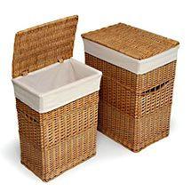 Walmart: Badger Basket - 2-Hamper Set, Natural  $60