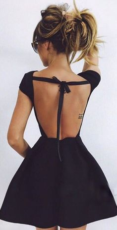 Sexy open-back dress | 2016 fashion trends | be stylish