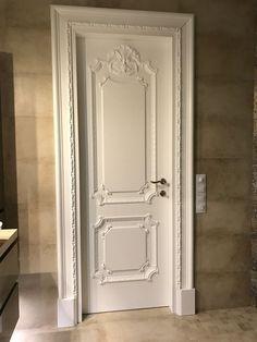 Door And Window Design, Home Door Design, Bedroom Door Design, Door Design Interior, Wooden Door Design, Wooden Doors, Parisian Room, Dining Area Design, Flur Design