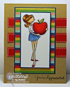 """My Favorite Things """"An Apple for Teacher"""" stamp set"""