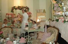 The English Rose Tea Room, Pleasanton, Ca