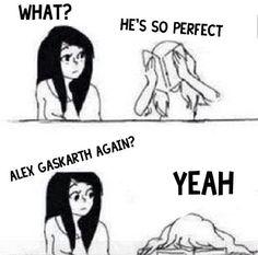 Alex Gaskarth ;)