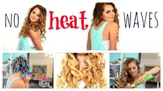 NO HEAT: Fake Naturally Wavy Hair!