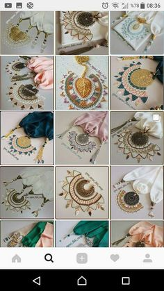 Diy And Crafts, Arts And Crafts, Lace Jewelry, Needle Lace, Bridesmaid Jewelry, Embroidery, Beads, Flora, Creative