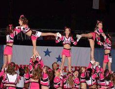 Cheerleading Pyramids | Featured Stunt - Cheer Magic All Stars Rotating Pyramid