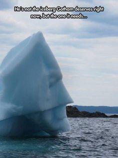 The Dark Iceberg