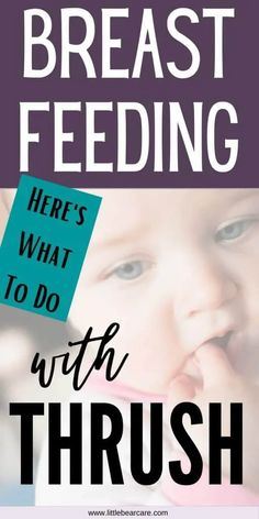 Breastfeeding With Thrush - What You Should Do - Little Bear Care Breastfeeding Classes, Breastfeeding And Pumping, What Is Thrush, Baby Thrush, Twins Schedule, Twin Pictures, Baby Feeding, Bear, Tips
