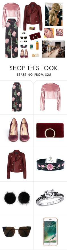 """London Fashion Week"" by sue980 ❤ liked on Polyvore featuring Voodoo Vixen, Boohoo, Sam Edelman, Jessica McClintock, Maje, Wild & Woolly, Fendi and Griffin"
