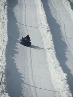 Snow tubing in PA