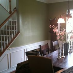 Same layout, love the molding. Maybe a different paint color.