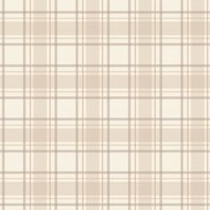 I Love Wallpaper Tartan Designer  Wallpaper Neutral / Beige / Cream Scottish