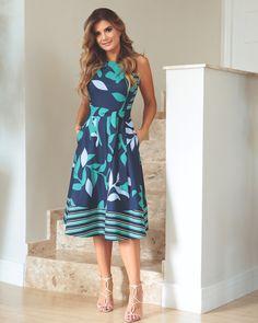 O Neck Sleeveless Boho Print Sashes A Line Dress Modest Dresses, Pretty Dresses, Beautiful Dresses, Casual Dresses, Summer Dresses, Kohls Dresses, Modest Fashion, Fashion Dresses, Mode Wax