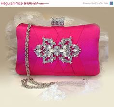Hey, I found this really awesome Etsy listing at https://www.etsy.com/listing/196679893/wedding-clutch-formal-clutch-hot-pink