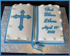 Amanda's Custom Cakes: Baptism Cake