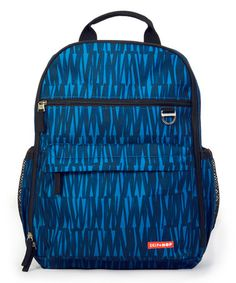 This Blue Graffiti Diaper Bag by Skip Hop is perfect! #zulilyfinds