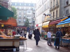 Market at Rue Daguerre (métro: Denfert-Rochereau) for butcher, baker & cheese maker, + a honey shop; the O Sole Mio Italian deli, which locals have been known to cross town to shop at; & several wine cellars with affordable bottles. One of Paris' best bakeries, le Moulin de la Vierge, is on the corner, perfectly placed for a last-minute grab once your shopping is done.