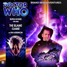 The Blame Game Big Finish, Audio Drama, Cd Cover, Dr Who, Doctor Who, Sci Fi, Blame, Bbc, Third