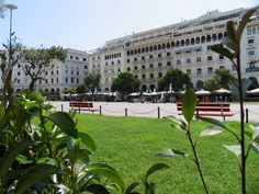 TRAVEL'IN GREECE I Aristotelous square, #Thessaloniki, #travelingreece
