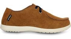 Crocs Hazelnut  Stucco Men s Santa Cruz 2 Eye Shoe Santa Cruz Collection Review Buy Now