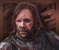 "sandor clegane ""the hound"" by crystal sully"