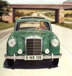 Mercedes Class S type W180 et W128, 1954/60