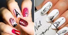 pintar uñas diseños faciles bonito