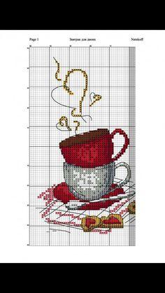 Winter& Tale: 35 patterns for cross stitch, . - Winter& Tale: 35 patterns for cross-stitch, photo No. Xmas Cross Stitch, Cross Stitch Kitchen, Cross Stitch Love, Cross Stitch Bookmarks, Cross Stitch Borders, Cross Stitch Flowers, Cross Stitch Designs, Cross Stitching, Cross Stitch Embroidery
