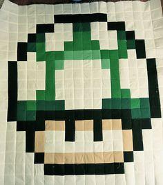 1up mushroom by IamSusie