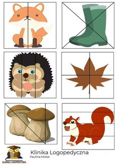 Preschool Puzzles, Fall Preschool, Preschool Learning Activities, Toddler Activities, Autumn Activities For Kids, Crafts For Kids, Adhd Kids, Cute Monsters, Kids Education