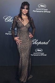 Michelle Rodriguez em festa em Cannes, na França (Foto: Yves Herman/ Reuters)