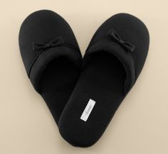Embraceable Slipper in Black #SomaIntimates #MySomaWishList #MySomaWishList